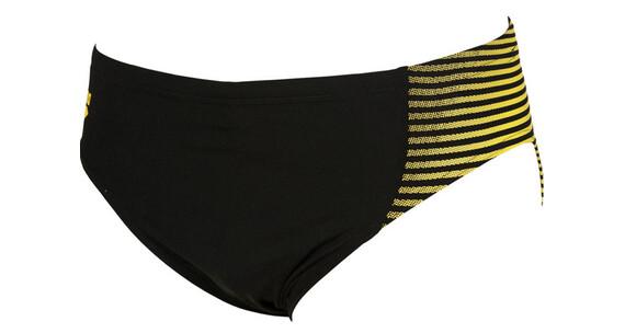 arena Espiral Spodenki kąpielowe Mężczyźni żółty/czarny